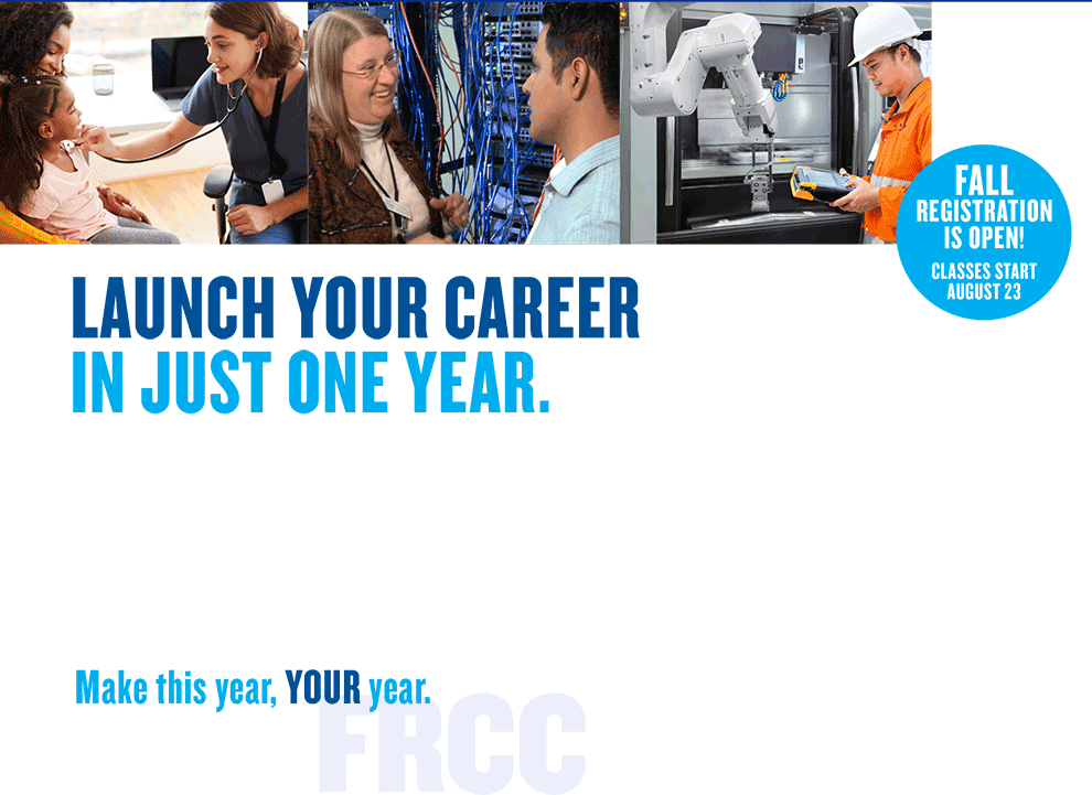 LAUNCH YOUR CAREER IN JUST ONE YEAR.