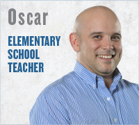 Oscar - Elementary School Teacher