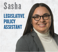 Sasha - Legislative Policy Assistant