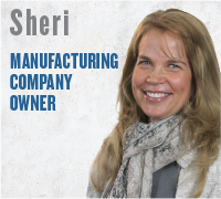 Sheri - Manufacturing Company Owner