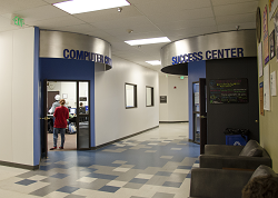 Photo of entrance to Student Success Center