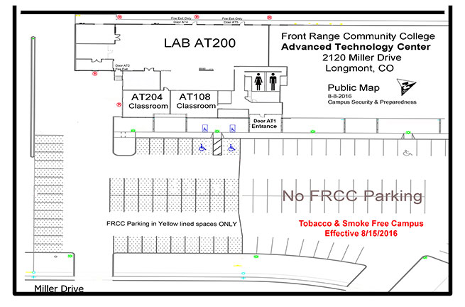 See description of Advanced Technology Center map below.