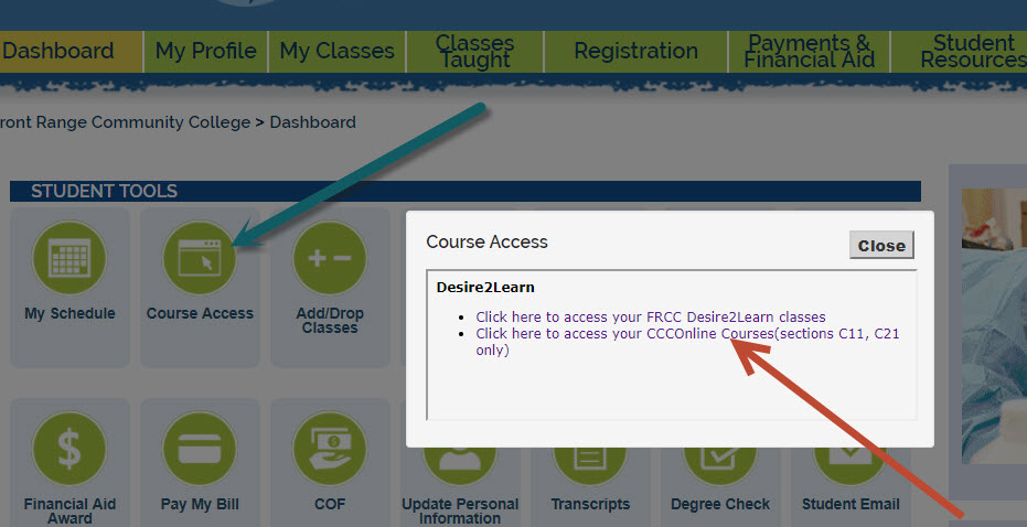 How to access online classes in eWOLF