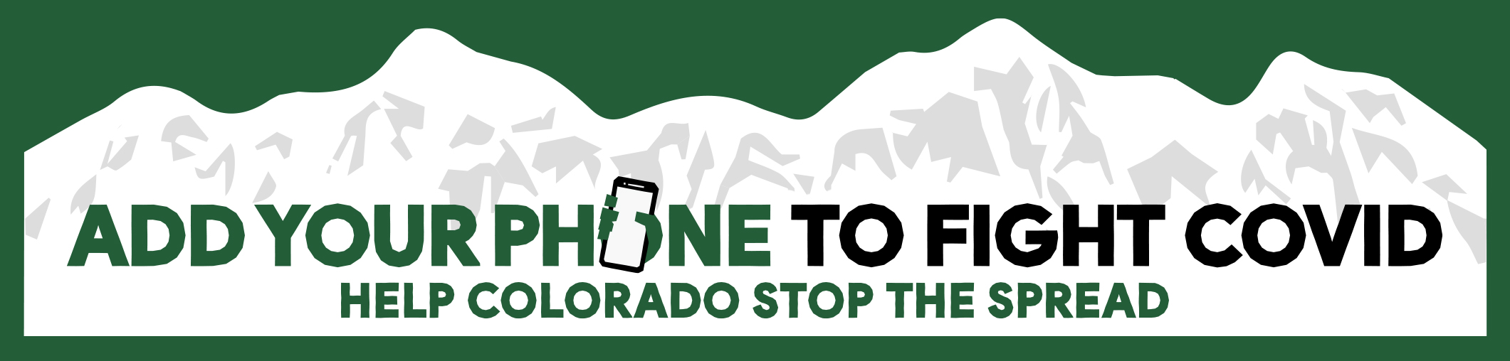 Add your phone to fight COVID. Help Colorado stop the spread