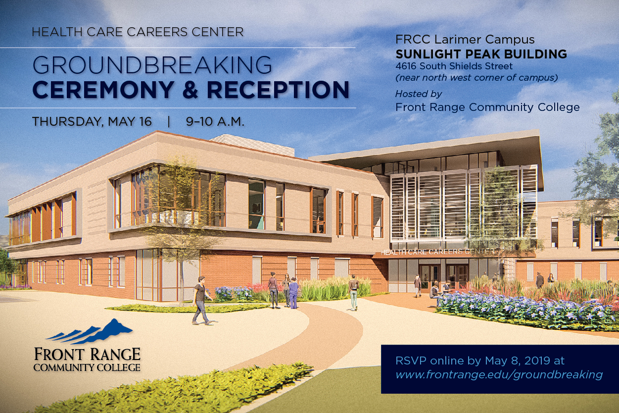 Groundbreaking Ceremony & Reception, Thur, May 16, 9-10am.