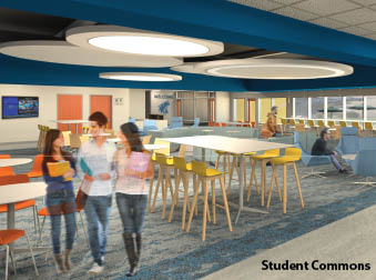 Student Commons-Render