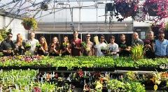 Horticulture Students in the Greenhouse