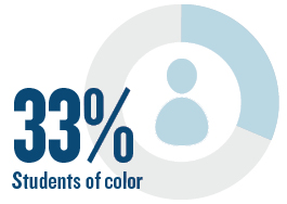 29% Students of Color
