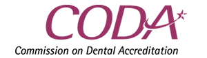 Commission on Dental Accreditation logo